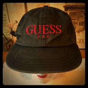 Guess snap back hat